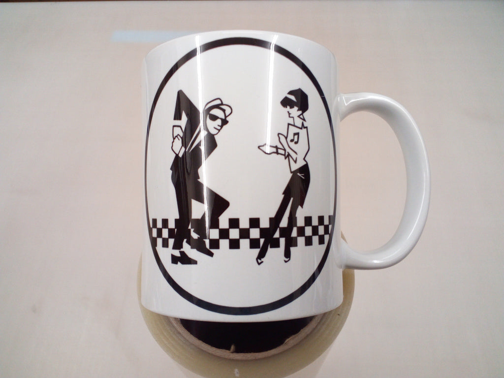Ska man and Beat girl - 11oz mug birthday Christmas xmas gift present