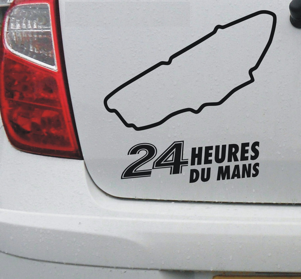 Le Mans 24 hour #1 - French race circuit vinyl decal sticker graphic - Enhance With Vinyl