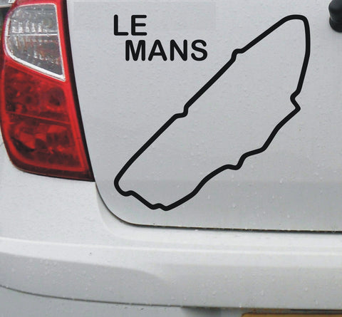 Le Mans #2 - French race circuit vinyl decal sticker graphic - Enhance With Vinyl