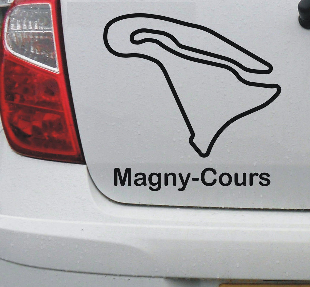 Magny-Cours - French race circuit vinyl decal sticker graphic - Enhance With Vinyl
