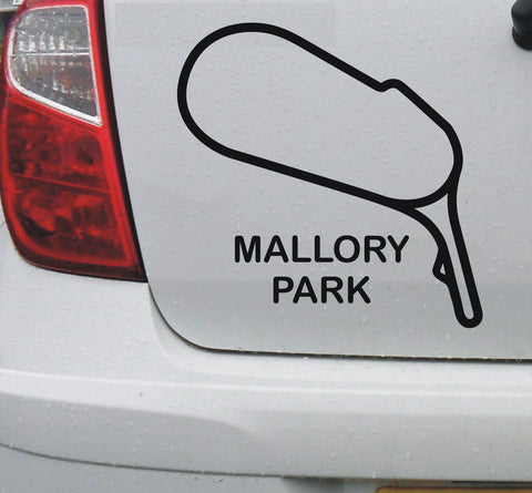 Mallory Park - British race circuit vinyl decal sticker graphic - Enhance With Vinyl