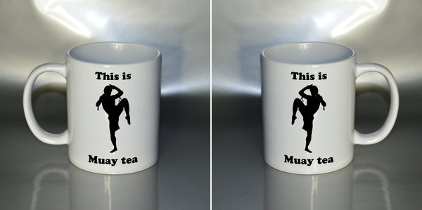 This is Muay tea - humorous 11oz mug birthday Christmas xmas gift present