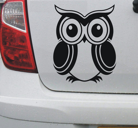 Owl #2 vinyl decal car bike window sticker graphic - Enhance With Vinyl