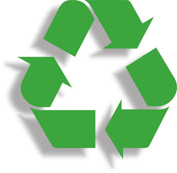 Recycle #1 - Recycling logo symbol vinyl wheelie bin decal sticker - Enhance With Vinyl