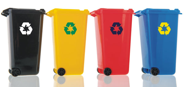 Recycle #2 - Recycling logo symbol vinyl wheelie bin decal sticker - Enhance With Vinyl