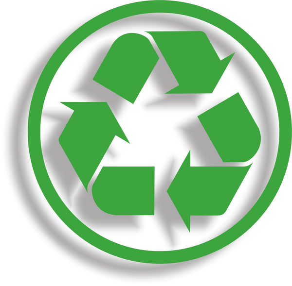 Recycle #4 - Recycling logo symbol vinyl wheelie bin decal sticker - Enhance With Vinyl