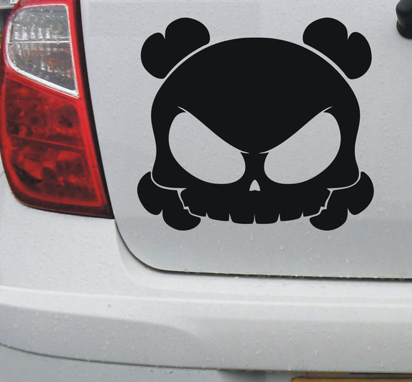 Skull #1 - vinyl decal graphic sticker for cars bikes bumpers home - Enhance With Vinyl