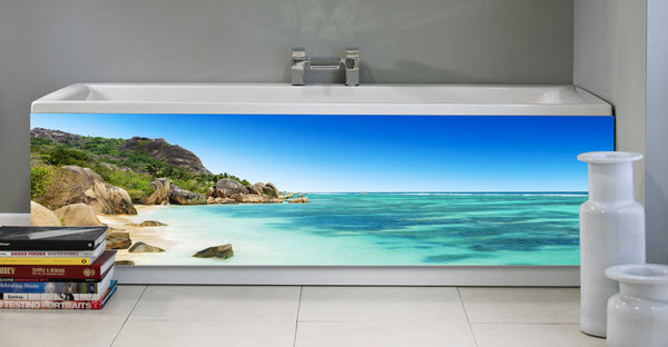 Bath panel - Bath - Tropical beach 2