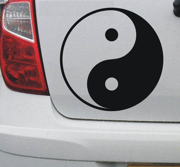 Yin and Yang #1 - vinyl decal graphic sticker for car bike boat and home - Enhance With Vinyl