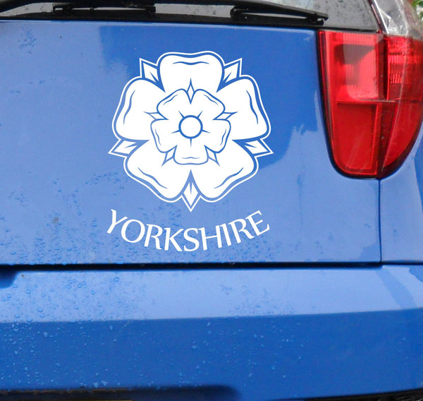 Yorkshire rose - vinyl sticker decal graphic #1
