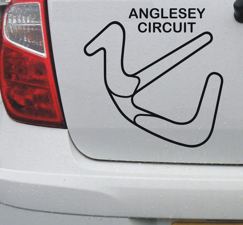 Anglesey - Welsh race circuit vinyl decal sticker graphic - Enhance With Vinyl