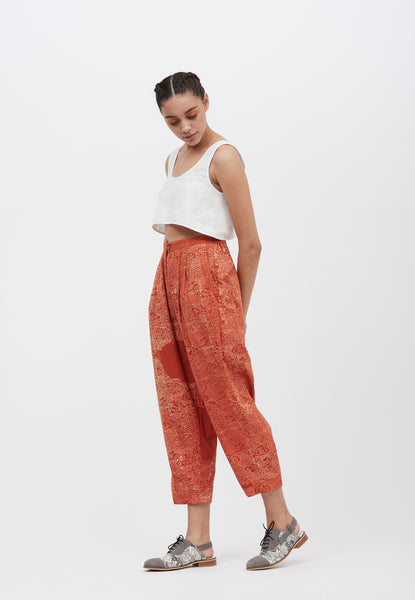 Sunset Pleated Pants