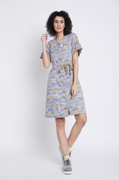 Cloud Nine Midi Dress