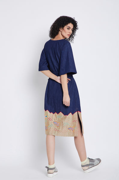 Goldfish Pond Midi Dress