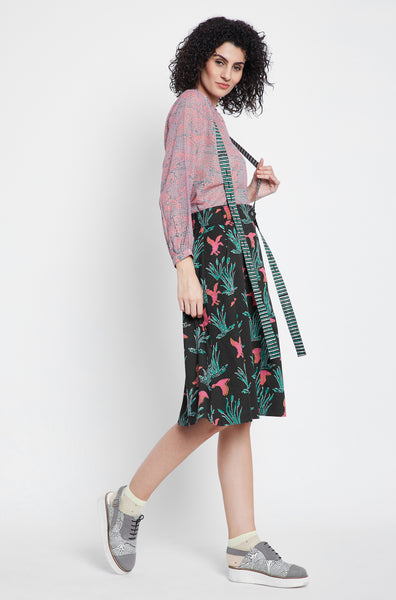 Mallard and Cottontail Midi Skirt