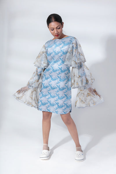 Three Tier Sleeve Dress