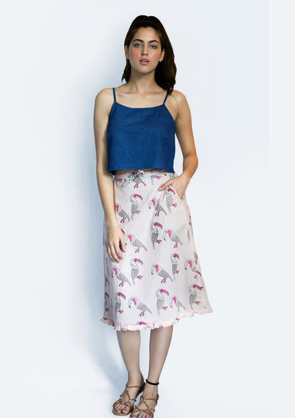 Toucan Layered Skirt