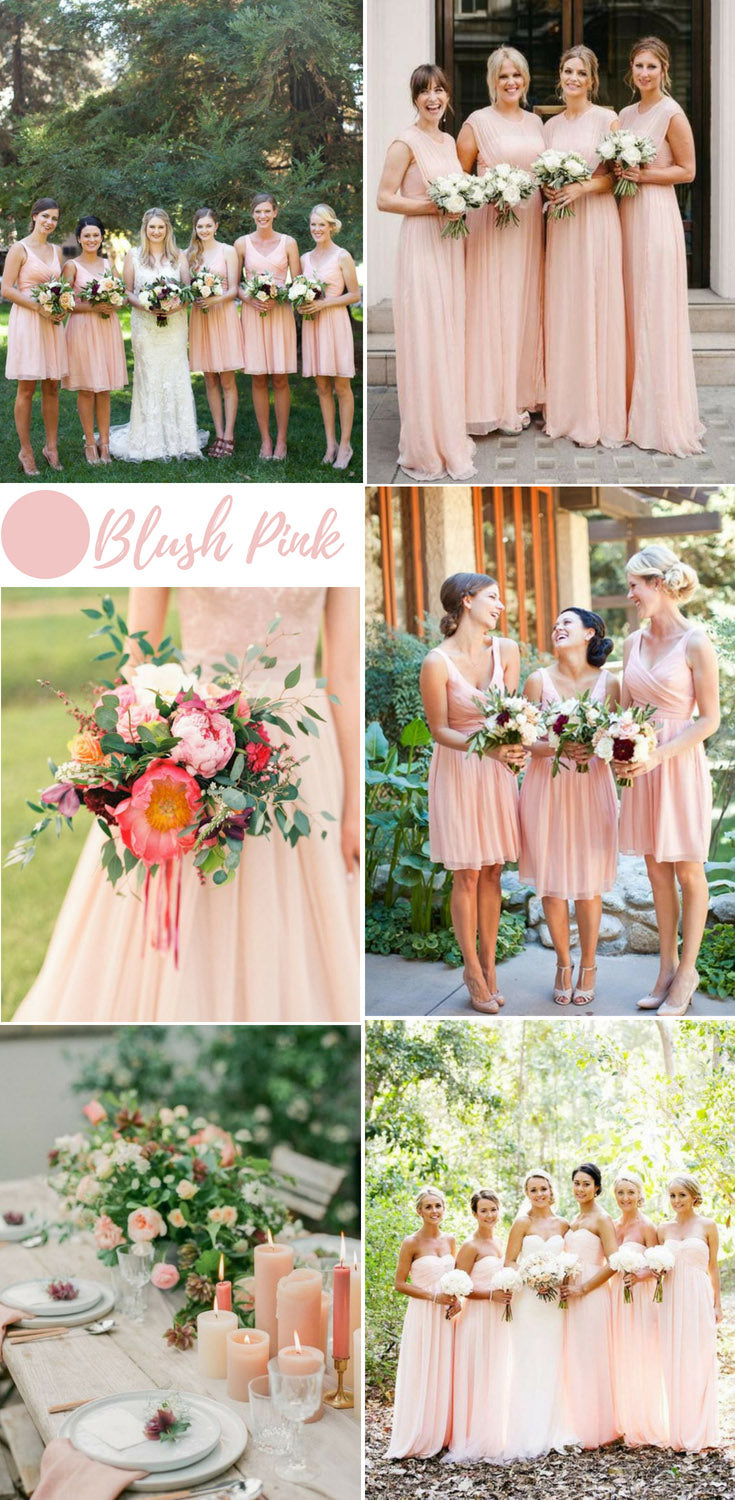 Summer Wedding Colors.Top 10 Colors Of Bridesmaid Dresses For Summer Wedding Sheergirl