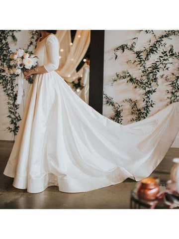 products/34-sleeve-modest-wedding-dresses-backless-simple-long-sleeve-wedding-dress-awd1135-2.jpg