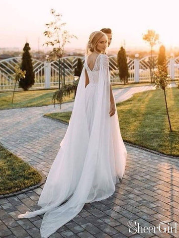 products/a-line-beaded-chiffon-boho-wedding-dresses-with-cape-sleeves-awd1345.jpg
