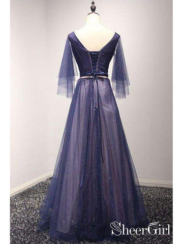 products/a-line-beaded-navy-blue-formal-dresses-pleated-34-sleeve-maxi-prom-dresses-ard1031-2.jpg