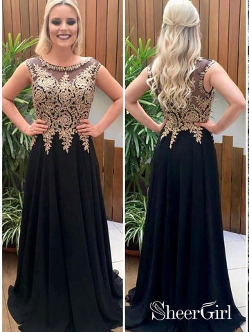 products/a-line-black-chiffon-with-gold-lace-appliqued-long-prom-dresses-apd2826-sheergirl.jpg