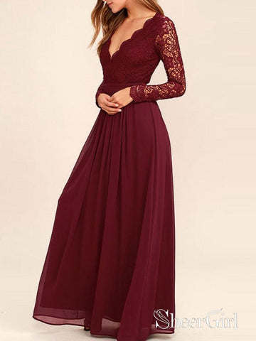 products/a-line-burgundy-chiffon-long-sleeves-lace-bridesmaid-dresses-apd1984-sheergirl.jpg