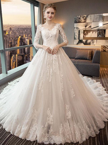 products/a-line-cathedral-train-royal-lace-wedding-dresses-with-34-sleeves-swd0044.jpg