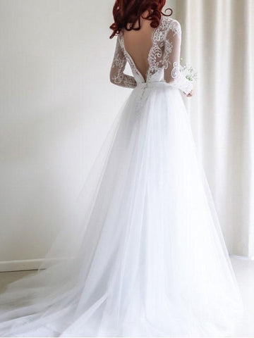 products/a-line-cheap-fitted-white-wedding-dresses-plus-size-bridal-dress-with-long-sleeves-swd0072-2.jpg