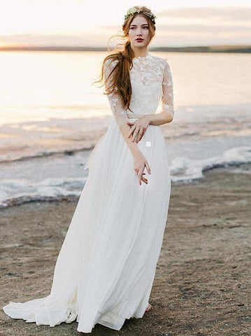 products/a-line-ivory-chiffon-beach-wedding-dresses-with-sleeves-see-through-bridal-dress-awd1207.jpg