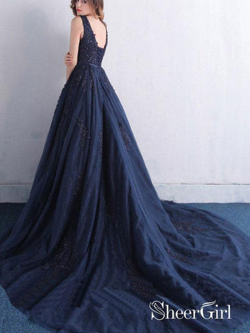 products/a-line-lace-appliqued-beaded-prom-dresses-navy-blue-quinceanera-dress-with-corset-back-apd3352-2.jpg