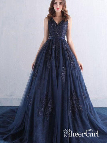 products/a-line-lace-appliqued-beaded-prom-dresses-navy-blue-quinceanera-dress-with-corset-back-apd3352.jpg