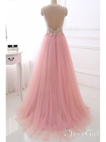 products/a-line-pink-beaded-prom-dresses-tulle-long-see-through-back-maxi-formal-evening-gowns-ard1032-2.jpg