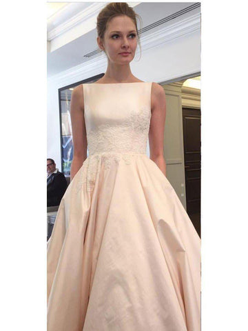 products/a-line-sabrina-neck-taffeta-with-pocket-chapel-train-simple-wedding-dresses-apd2802-sheergirl.jpg