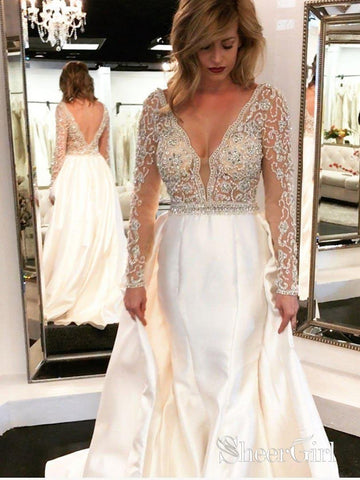 products/a-line-v-neck-beaded-see-through-bodice-long-sleeves-wedding-dresses-apd2816-sheergirl.jpg