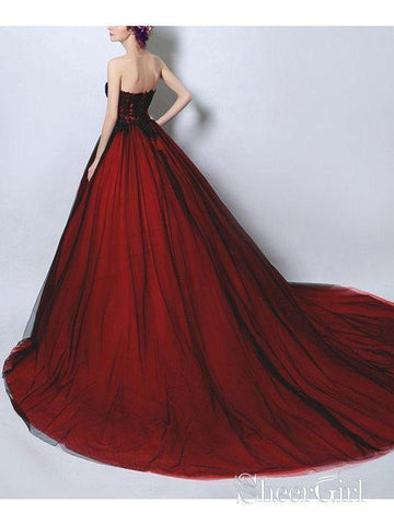 products/ball-gown-strapless-black-tulle-red-satin-prom-dresses-with-sweep-train-apd3039-2.jpg