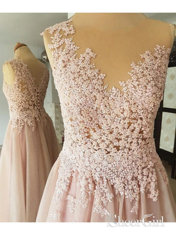 products/blus-pink-beaded-prom-dresses-tulle-see-through-long-formal-dresses-apd3515-2.jpg