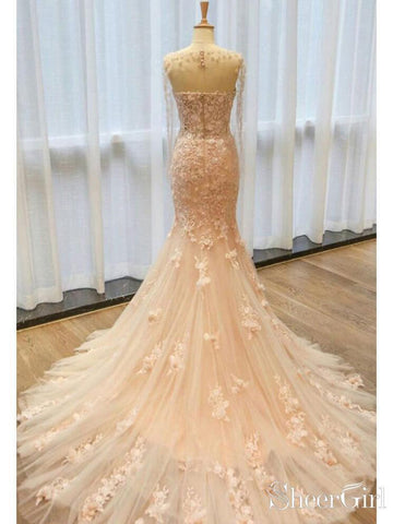 products/champagne-lace-tulle-mermaid-wedding-dresses-with-cape-sleeve-awd1442-2.jpg