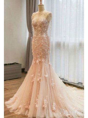 products/champagne-lace-tulle-mermaid-wedding-dresses-with-cape-sleeve-awd1442.jpg