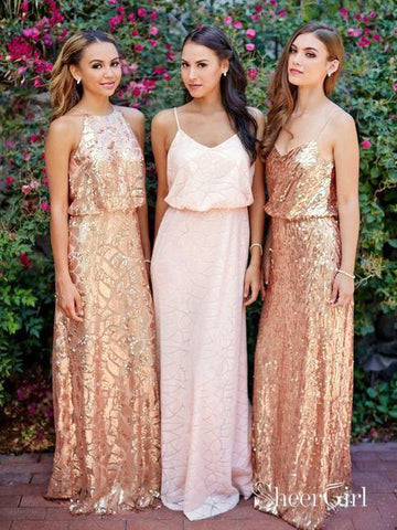 products/cheap-pink-lace-sparkly-sequin-gold-mismatched-bridesmaid-dresses-pb10102.jpg