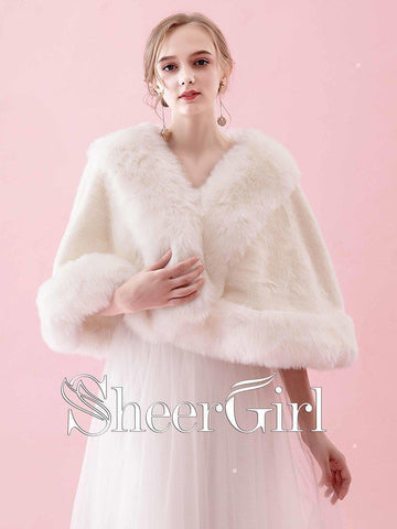 products/ivory-faux-fur-wedding-wraps-short-bridal-cape-wj0009.jpg