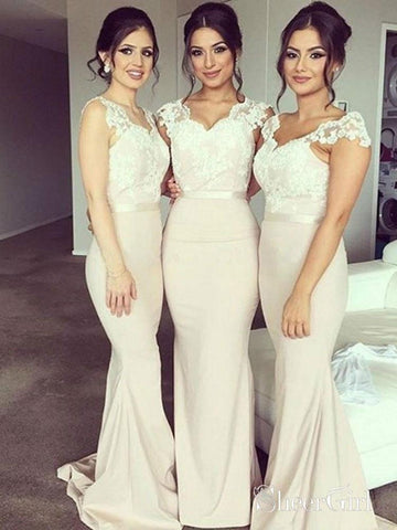 products/ivory-lace-appliqued-v-neck-cap-sleeves-mermaid-long-bridesmaid-dresses-apd2721-sheergirl.jpg