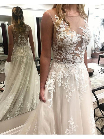 products/ivory-lace-wedding-dresses-see-through-applique-bridal-dress-with-court-train-awd1176-2.jpg