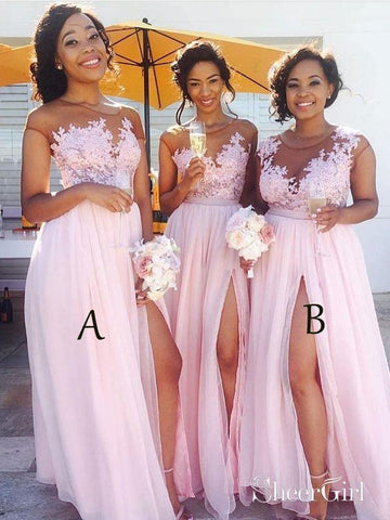 products/lace-appliqued-bodice-pink-chiffon-long-mismatched-bridesmaid-dresses-with-slit-apd2254-sheergirl-2.jpg