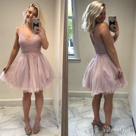 49a2d2738ef41 products lace-top-blush-pink-homecoming-dresses-tulle-