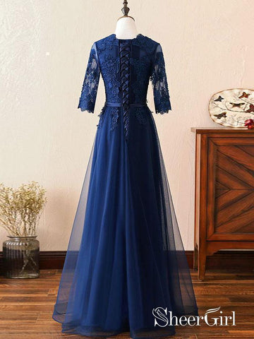 products/long-prom-dress-navy-blue-half-sleeve-lace-applique-formal-evening-dresses-2018-apd3261-2.jpg