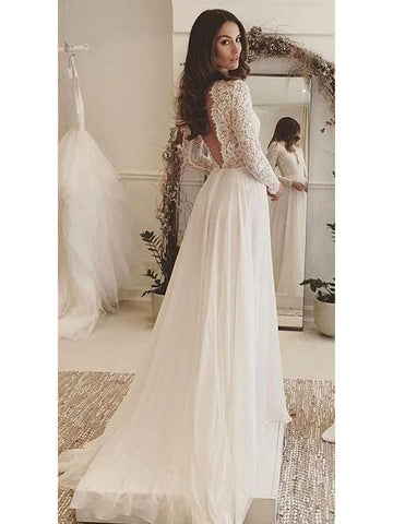 products/long-sleeve-lace-top-beach-wedding-dresses-v-neck-chiffon-wedding-dress-awd1149-sheergirl-2.jpg