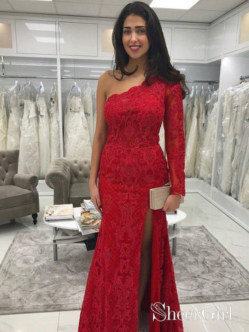 products/one-shoulder-long-sleeve-red-lace-mermaid-prom-dresses-with-slit-apd3373.jpg