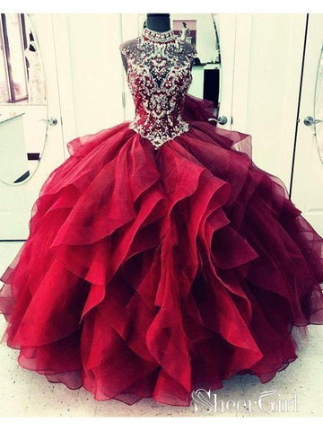 products/royal-blue-organza-high-neck-quinceanera-dresses-burgundy-prom-dresses-apd2860-2.jpg