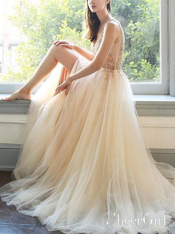 products/sexy-v-neck-beaded-champagne-tulle-prom-dresses-with-side-slit-ard1988-2.jpg